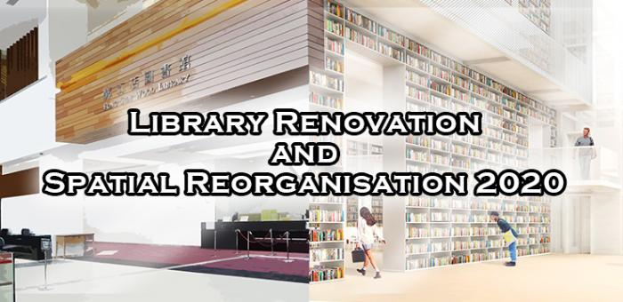 Library Renovation and Spatial Reorganisation 2020
