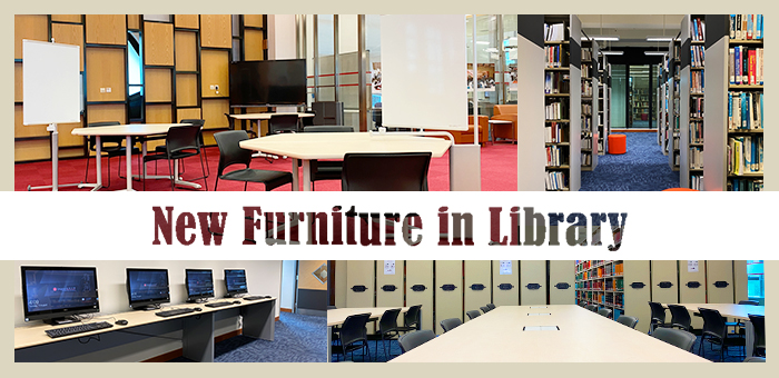New Furniture in the Library