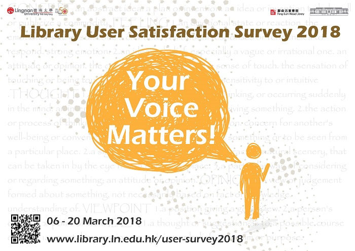Library Users Satisfaction Survey 2018